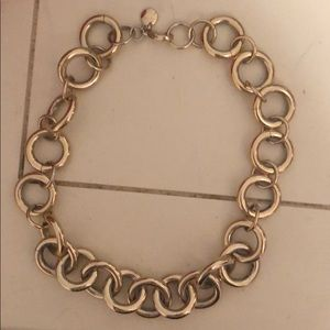 J Crew gold necklace